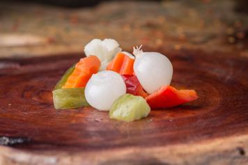 I capolavori Miraglia peperone piccante oro peperoni piccanti insalatina giardiniera giardiniera