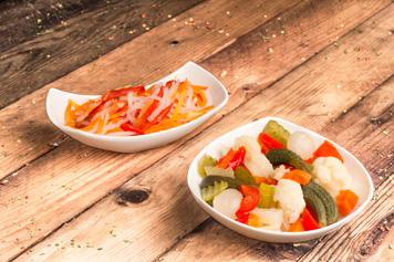I capolavori Miraglia peperone piccante oro peperoni piccanti insalatina giardiniera